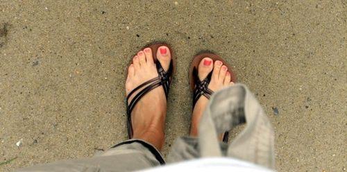 accidental photo of my feet