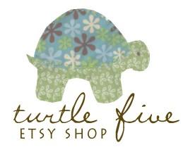 shop turtle five on etsy!